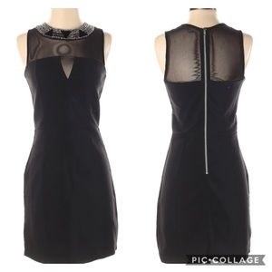 Charlotte Russe Cocktail Dress Black size Small